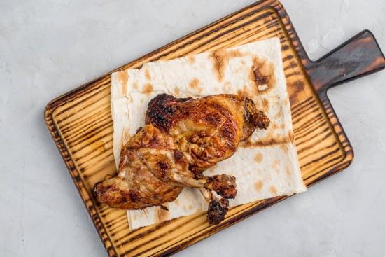 Куриное бедро на мангале